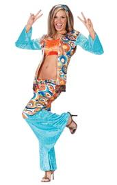 Вельветовый костюм хиппи