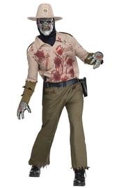 Взрослый костюм Зомби шерифа