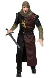 Взрослый костюм доблестного рыцаря
