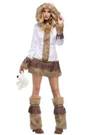 Мягкий костюм эскимоски