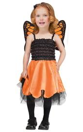 Детский костюм оранжевой Бабочки