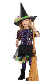 Детский костюм веселой ведьмочки