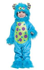 Детский костюм Монстрика голубой