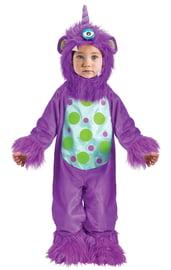 Детский лиловый костюм Монстрика