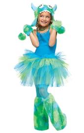 Детская юбочка Туту зеленая