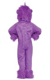 Детский лиловый костюм Монстрика XL