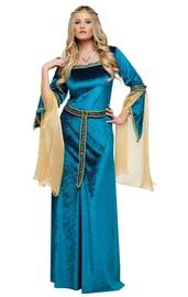 Бирюзовый костюм Принцессы Ренессанса