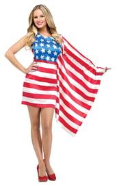 Костюм Американской красавицы