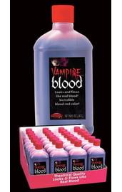 Вампирская кровь в бутылке