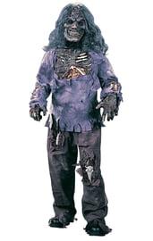 Детский костюм Зомби с волосами