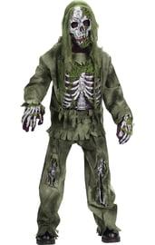 Детский костюм Скелетона Зомби