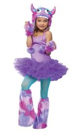 Детский костюм плюшевого монстрика