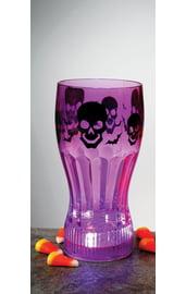 Светящийся фиолетовый стакан для колы