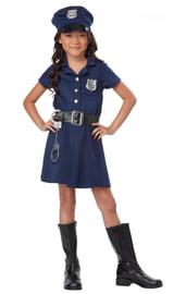 Костюм полицейской детский
