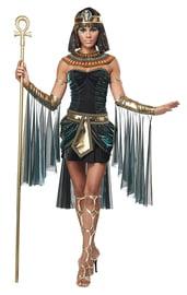 Костюм египетской богини в черном