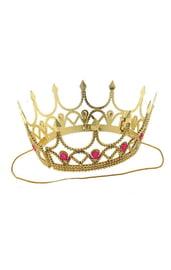 Корона золотистая детская