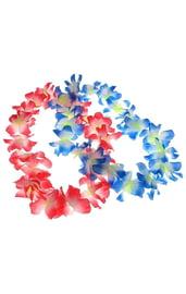 Разноцветное гавайское ожерелье