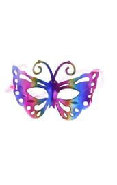 Маска бабочки разноцветная