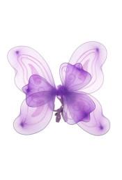 Крылья бабочки фиолетовые