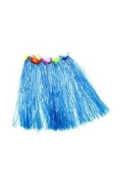 Гавайская юбка синяя