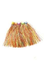 Гавайская юбка разноцветная