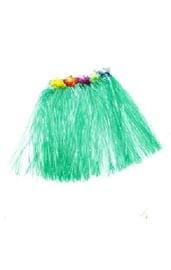 Гавайская юбка зеленая