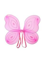 Крылья бабочки розового цвета