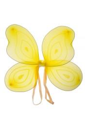 Крылья бабочки желтого цвета
