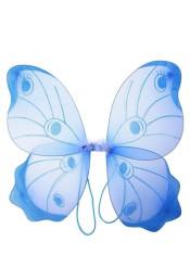 Крылья бабочки-капустницы голубые