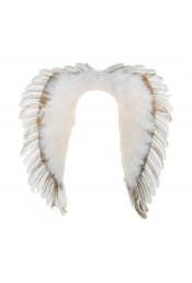 Карнавальные крылья ангела белые