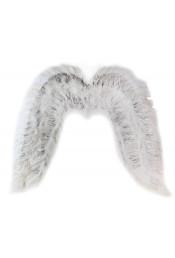 Крылья ангела с мишурой