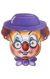 Маски клоун в шляпе