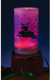 Декоративная свеча с оленем