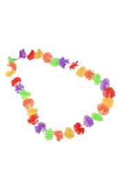 Гавайское ожерелье разноцветное