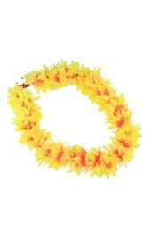 Гавайское ожерелье желтое