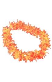Гавайское ожерелье оранжевое