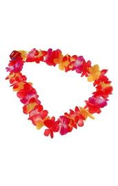 Яркое трехцветное ожерелье