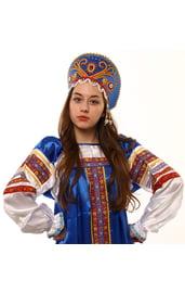 Синий кокошник Княжна