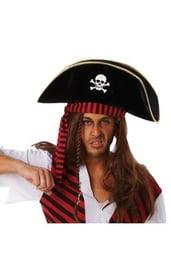 Шляпа пирата универсальная