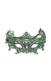 Изящная зеленая маска