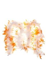 Боа оранжево-белое