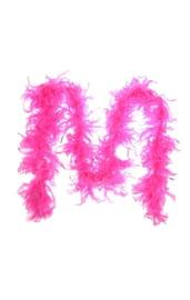 Карнавальный шарф розовый