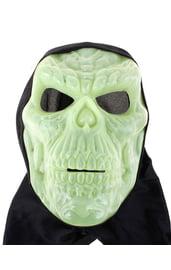 Светоотражающая маска черепа