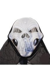 Светоотражающая маска черепа в накидке