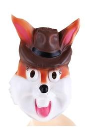 Маска кролика в шляпе
