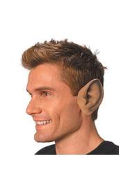 Заостренные уши телесного цвета