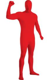 Красный костюм Зентай вторая кожа