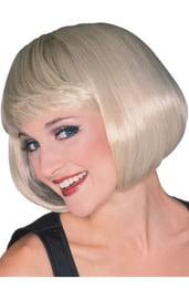 Парик супер-модели блондинки