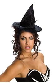 Велюровая шляпка ведьмы