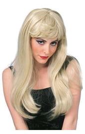 Гламурный парик блондинки